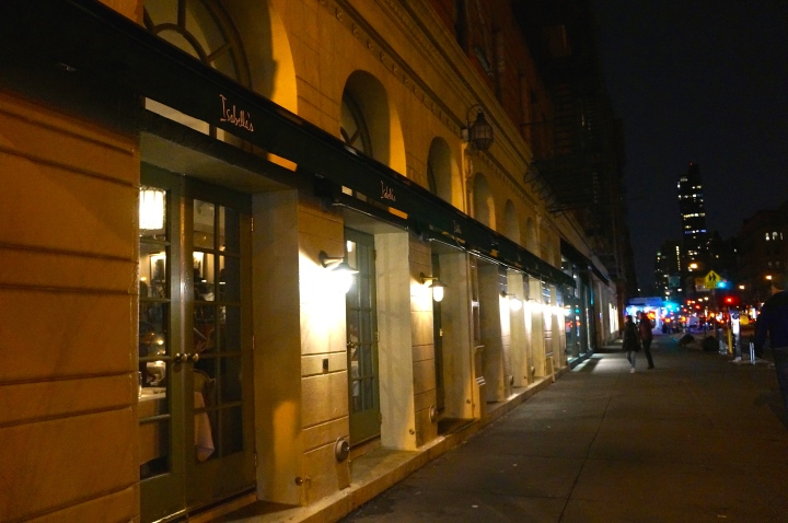 NYC Restaurant Week: Isabella's